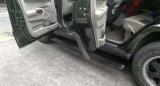 指挥官电动踏板 安装效果图,欧卡改装网,汽车改装