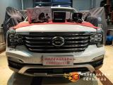 哈尔滨传祺GS8汽车改装意大利欧迪臣AV K6两分频套装喇叭,欧卡改装网,汽车改装