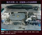 现代名图1.8L提升动力加装离心式电动涡轮增压器,欧卡改装网,汽车改装