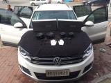 大众途观升级丹拿V17+3M隔音-齐齐哈尔龙军音改,欧卡改装网,汽车改装