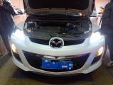 车灯医生带您一同体验马自达CX-7车灯升级案例效果,欧卡改装网,汽车改装