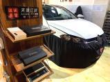 高尔夫音响改装意大利史泰格升级功放处理器,欧卡改装网,汽车改装