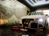 奥迪A1全车改色贴膜战斗灰,欧卡改装网,汽车改装