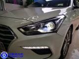 南昌名图,自己原车换上裸LED灯泡无作用,只好重新改立盯OLED双光透镜,欧卡改装网,汽车改装