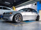 宝马3系E46改装TEI Racing P60S大六刹车套装,欧卡改装网,汽车改装
