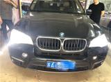 11年宝马X5车灯升级海拉5双光透镜 欧司朗CBA6000K氙气灯,欧卡改装网,汽车改装