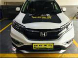 惠州惠城本田CRV加装前置泊车雷达,惠城改装,欧卡改装网,汽车改装