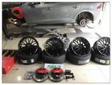 德州汽车改装 沃尔沃s60升级18寸轮毂,欧卡改装网,汽车改装