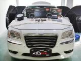 顺德车元素克莱斯勒300C音响改装升级 豪华座驾彰显美式血统,欧卡改装网,汽车改装