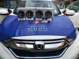 本田CRV改装德国斯洛琴汽车音响喇叭  东莞丰顺汽车影音,欧卡改装网,汽车改装