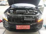贵阳大众帕萨特车灯升级LED双光透镜和加装流光日行灯,欧卡改装网,汽车改装