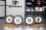 奔驰S级改迈巴赫20寸的锻造轮毂,欧卡改装网,汽车改装