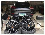 德州汽车轮毂批发 帕拉梅拉升级20寸前后配轮胎轮毂,欧卡改装网,汽车改装