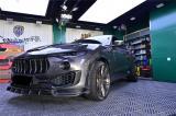 玛莎拉蒂Levante莱万特改装Larte碳纤包围轮毂,欧卡改装网,汽车改装