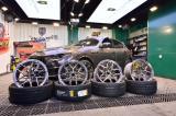 玛莎拉蒂莱万特Levante改装HRE轮毂21寸米其林轮胎,欧卡改装网,汽车改装