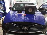 丰田RAV4改装德国斯洛琴10寸有源低音炮  江门鸿运汽车音响,欧卡改装网,汽车改装