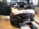 哈尔滨北京现代IX35汽车音响改装升级法国劲浪165AS套装喇叭,欧卡改装网,汽车改装