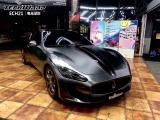 玛莎拉蒂GT 施工改色TeckWrap电光深灰改色膜,欧卡改装网,汽车改装