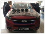 昆山汽车音响改装 奇瑞瑞虎7安装法国劲浪音响,欧卡改装网,汽车改装