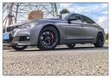 德州汽车轮毂批发 宝马3系安装MMX F102轮毂,欧卡改装网,汽车改装
