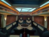大众T6进口7座定制航空座椅,柚木地板,欧卡改装网,汽车改装