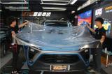 长沙蔚来撒欢前的漆面终极保护 美国TeckWrap透明膜,欧卡改装网,汽车改装