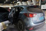 马自达CX-5汽车音响改装意大利史泰格/德国零点低音倒模,欧卡改装网,汽车改装