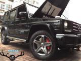 [奔驰刹车改装卡钳]奔驰G500升级奔驰原厂AMG前六后四,欧卡改装网,汽车改装