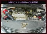 宝骏310 1.2L安装魔流离心式电动涡轮增压器电子涡轮增压安装作业,欧卡改装网,汽车改装