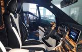 奔驰V260改装奢华蒙娜丽莎版内饰,欧卡改装网,汽车改装