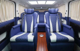 奔驰威霆MPV内饰改装升级,提升商务乘坐体验,欧卡改装网,汽车改装