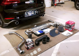激进小钢炮高尔夫7改装进排气HKS泄压阀,欧卡改装网,汽车改装
