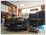 昆山斯科达速派安装德国喜力仕音响和中道隔音,欧卡改装网,汽车改装
