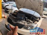 南京斯柯达晶锐车灯改装米石LED双光透镜M2性能版,欧卡改装网,汽车改装