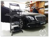 昆山奔驰E300L安装丹麦丹拿音响,欧卡改装网,汽车改装