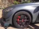 深圳英菲尼迪Q50L改装Brembo前六后四刹车套装,欧卡改装网,汽车改装