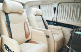 北京奔驰V260L内饰改装商务房车内饰,欧卡改装网,汽车改装