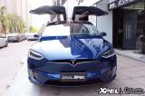 石家庄特斯拉model x贴XPEL隐形车衣,欧卡改装网,汽车改装