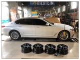 德州宝马5系轮毂改装BBS RI-A锻造轮毂,欧卡改装网,汽车改装