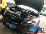 南京别克昂科威汽车车灯改装米石LED双光透镜案例,欧卡改装网,汽车改装