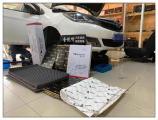 昆山海马3汽车隔音改装中道隔音案例,欧卡改装网,汽车改装