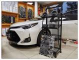 昆山丰田卡罗拉汽车音响改装丹麦丹拿音响案例,欧卡改装网,汽车改装