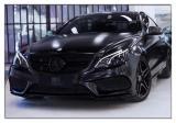 德州奔驰E级coupe改色贴膜艾利陶瓷黑案例,欧卡改装网,汽车改装