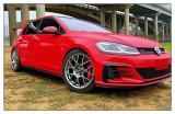 德州大众GTI汽车轮毂改装BBS XR轮毂案例,欧卡改装网,汽车改装