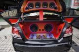 重庆大众朗逸汽车音响改装美国来福音响案例,欧卡改装网,汽车改装