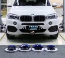 [宝马刹车改装]宝马X5升意大利Brembo V6前六后四卡钳,欧卡改装网,汽车改装