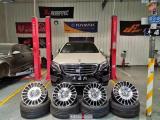 西安奔驰S级汽车轮毂改装迈巴赫轮毂,欧卡改装网,汽车改装
