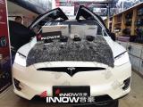 上海特斯拉model X汽车音响改装德国伊顿pro175两分频,欧卡改装网,汽车改装