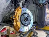 [深圳刹车改装]英菲尼迪升Brembo V6大六和Brembo V4大四,欧卡改装网,汽车改装