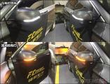 广州英菲尼迪QX50汽车改装后视镜流水转向灯案例,欧卡改装网,汽车改装
